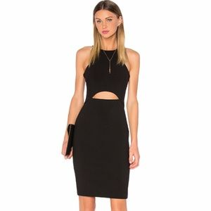 Likely Pentz Cutout Sheath Dress in Black